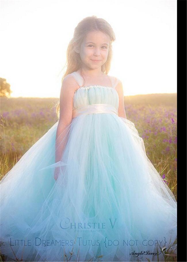 New Design Kid Ball Gown Dresses Wedding Girls Dress Latest Dress ...