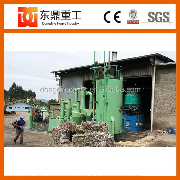 Environmental protection plastic waste gasification/MSW gasifier with Good Economic Effect
