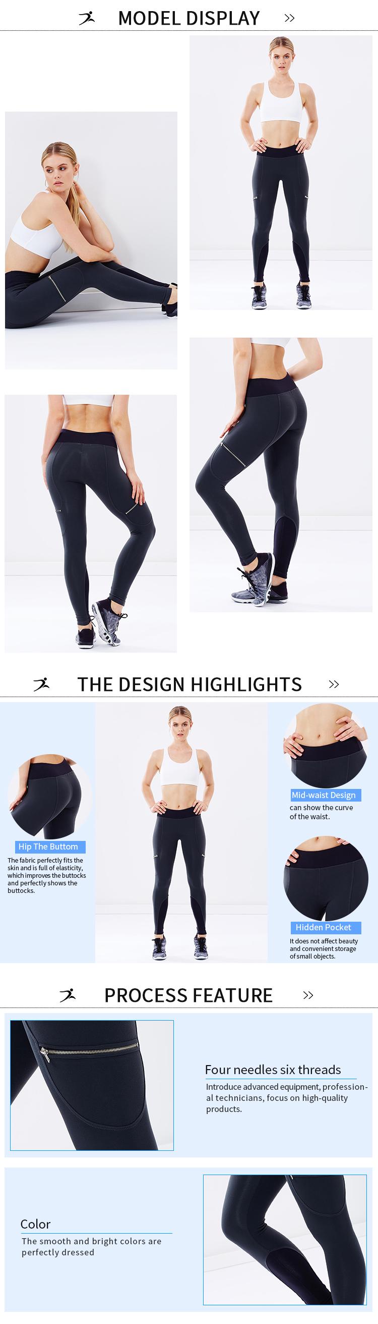 Yoga Pantalons Sport Plein Air vêtements de yoga gym leggings gros