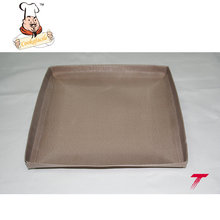 Professional manufacturer FDA Approved round oven mesh cooking tray
