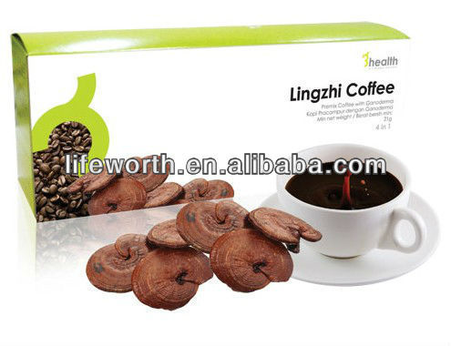 Lingzhi spore instant coffees cafe pele gold