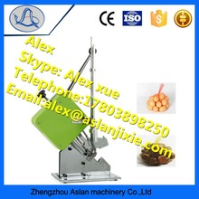 U-type manual sausage clipping machine with hand press for fungus grapefruit
