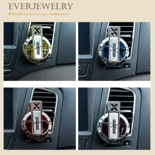 Car Air Freshener Perfume Diffuser Air Dashboard Clip Diamond Plated H