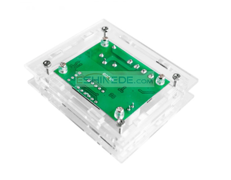W1209 Case Enclosure Transparent Acrylic Box Clear Cover Thermometer thermo controller (Not include W1209)