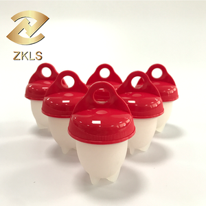 Amazon Newest Egg Boiler Silicone Egglettes Cooker Without The Shell Silicone Egg Poachers