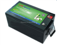 high capacity rechargeable 12/24/36/48/72v 100ah lifepo4 lithium ion battery pack for electric scooter