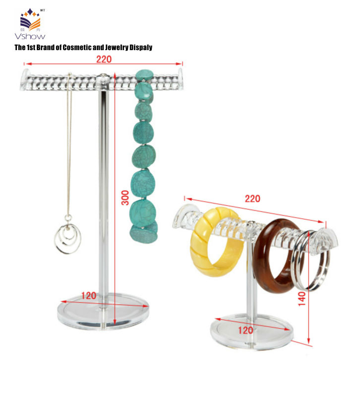 New style metal bracelet display stands wire jewelry rack