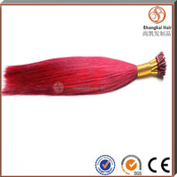 New Arrival Pre bonded Remy I tip human Hair Extension