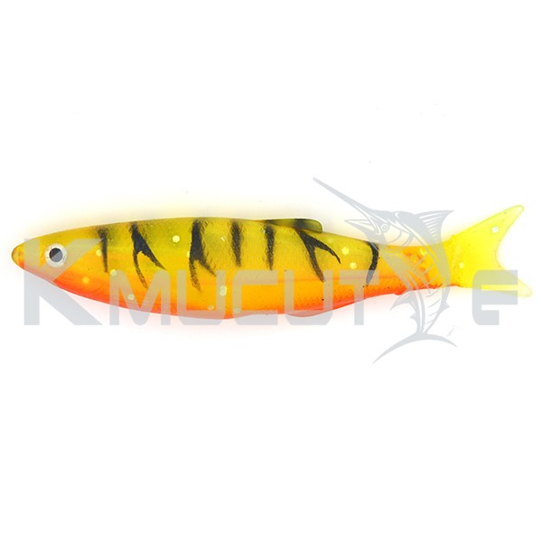 CHS0FT21 Hollow shad bright color soft fishing lure high quality soft fishing bait