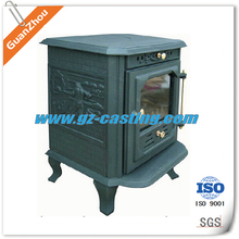 high quality cast iron wood stove door cheap price wholesale from China iron casting supplier
