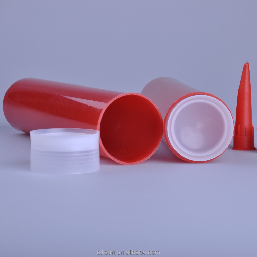 300ml cylindrical silicone sealant tube