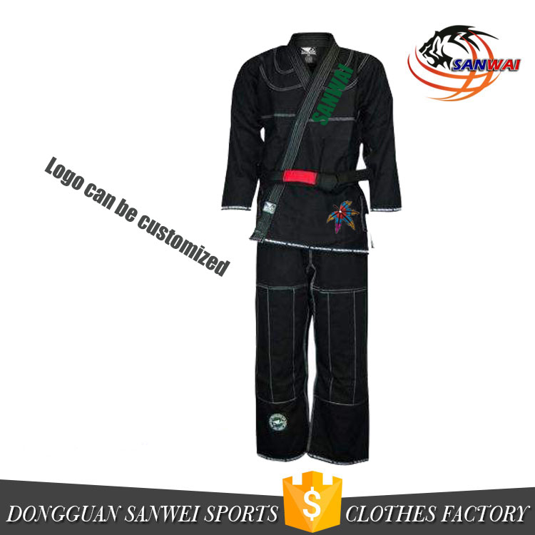 Lastest design high quality 100% cotton gold weave bjj gi