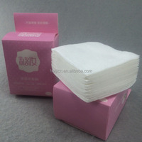 factory price nonwoven fabric cosmetic cotton pads for facial skin cleaning round or square