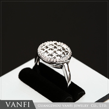 Wholesale Fashion Women Jewelry Platinum Plated Cubic Zirconia New Model Ring