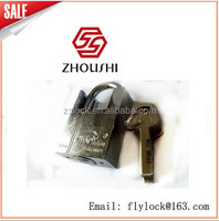 Chrome LOCK Padlock master key antique look Good Luck buddha india lion