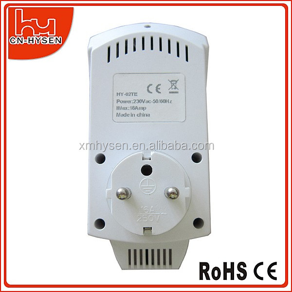 HY02TP Programmable Digital Heating Floor Room Thermostat