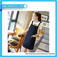 China supplier colorful kitchen wholesale custom design cheap newest plain aprons decorate