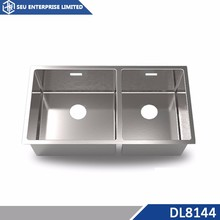 32inch Small Double Bowl Stainless Steel Kitchen Sink