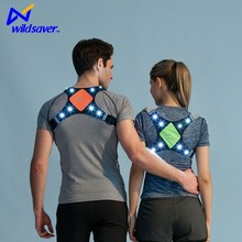 Outdoor knipperende led running vest/led joggingpak/led sport vest