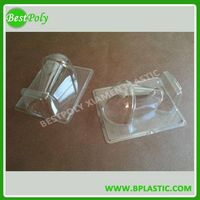 Plastic light bulb packaging box