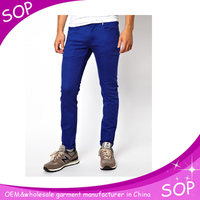 Blue true skinny mens jeans brand