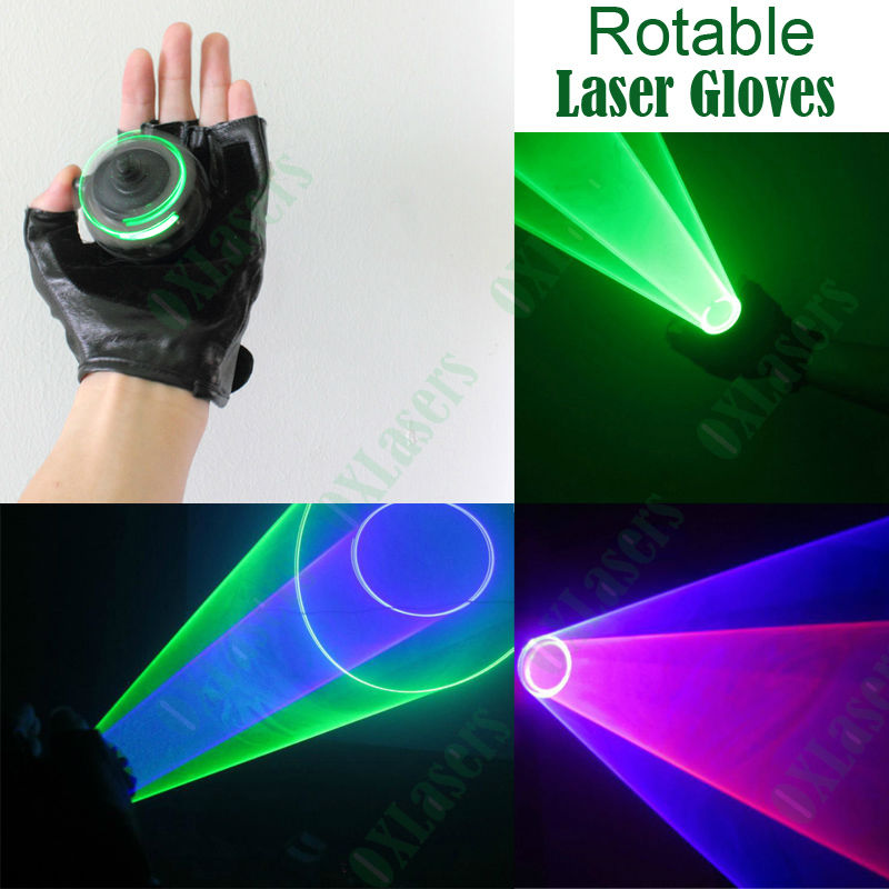 OXLasers green and red laser gloves blue laser gloves purple laser dj gloves show light vertex gloves auto moving for parties