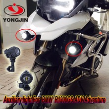 For Bmw motorcycle accessories LED auxiliary lamps for bmw r1200gs