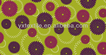 2013 new design textile print fabric fabric material