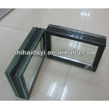 Low emissivity tempered glass
