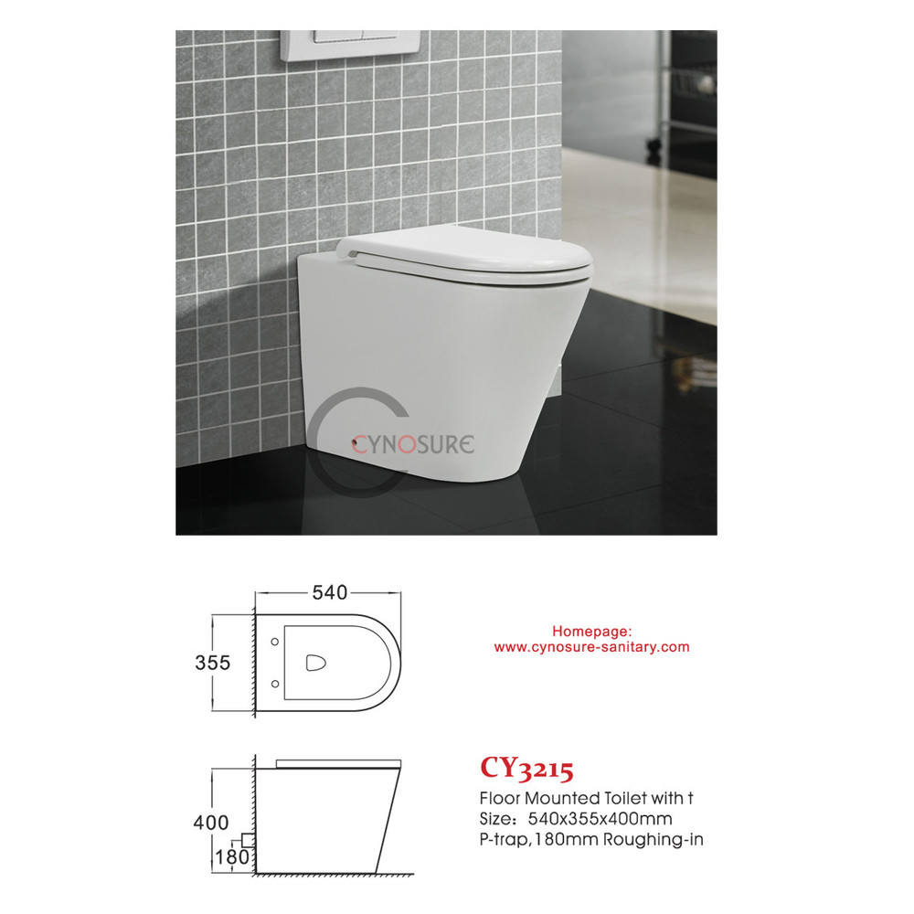 cy3215FM-whloesale price for floor mounted toilet bathroom sanitary ware WC