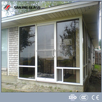 Tempered outdoor glass panels
