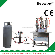 Asphalt Cleaner/Cosmetics aerosol filling machine