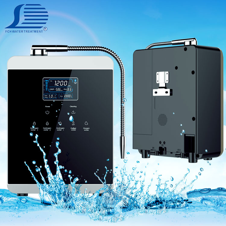 Household enagic ionizer water / industry ionizer water machine / acrylic rich commercial hydrogen water machine