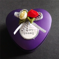 Lovely iron gift box min box for Valentine' s Day