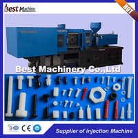 Plastic Screw Injection Molding Machine / Making Equipment Price
