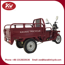 three wheels pedicab trailer for adult cargo tricycle