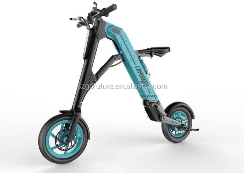 UL/CE/FCC/ROHS/DOT 280Watts Mini E Scooter City E-Bike Foldable Electric Bike Smart Scooter for Adults with seat