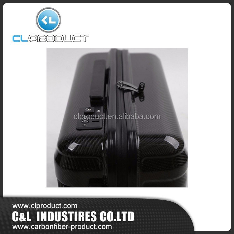 New Design Waterproof Carbon Fiber Luggage