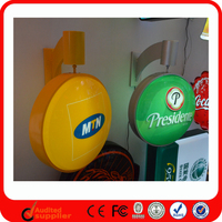Advertising Products Outdoor Led Rotating Sucking Light Signs