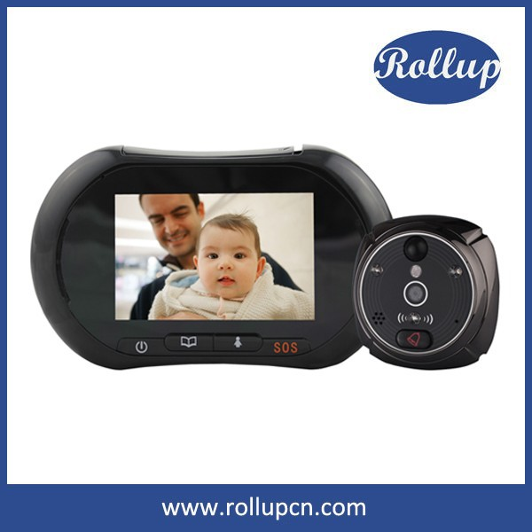 Android iPhone Pad connection wifi door viewer,door peephole,360 degree car security camera