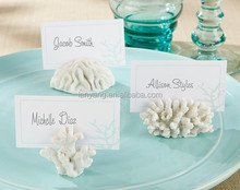 New Design Sea Coral Wedding Favor Place Card Holder