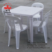plastic square table