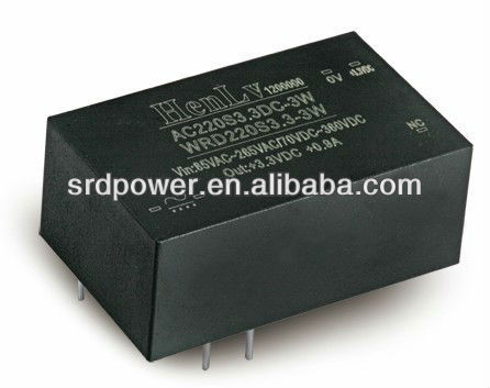 3w height 37mm ac dc converter 220 V AC 15 V DC converter,ac dc power converter