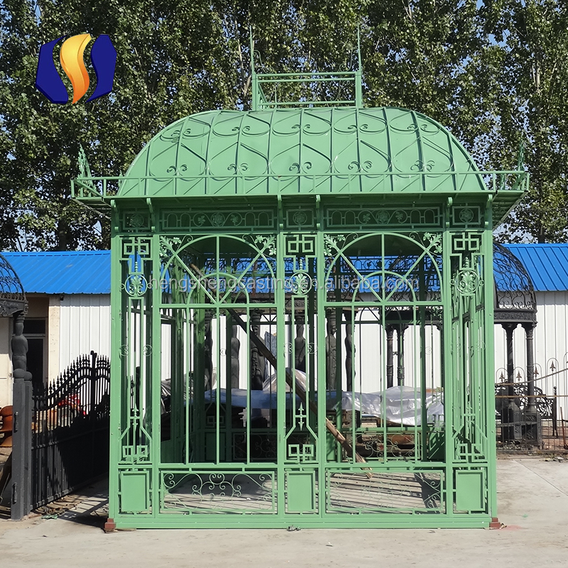 High Quality Galvanized Steel Garden Green House For Sale