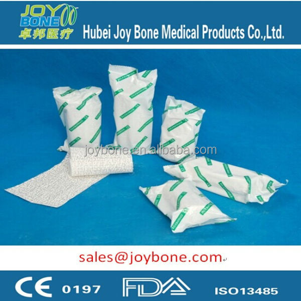 Hot Sales CE & ISO13485 certificated POP Bandage, Gypsum Bandage, Cellona, gypsona