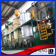 High efficiency good quality Turn-key project used cooking oil refinery plant