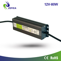 80w 12v CE RoHs Certification Waterproof