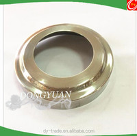 stainless steel pipe cover, inox steel base decorative caove for handrail accessory