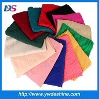 hot sales high quality wholesale Solid color scarf Muffler woman scarf WJ-688