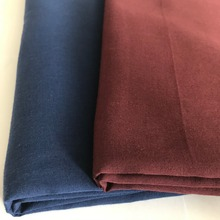 China factory nice quality plain poplin 110*76 pocket lining 90% polyester 10% cotton dyed fabric